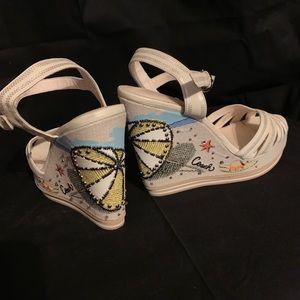 Coach sandals size 8
